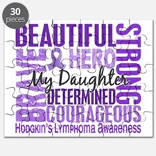 Tribute Square Daughter Hodgkins Lymphoma Puzzle