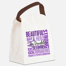 Tribute Square Daughter Hodgkins  Canvas Lunch Bag
