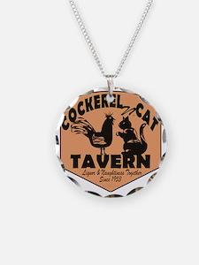 Cockerel N Cat Tavern Necklace