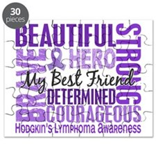 D Tribute Square Female Best Friend Hodgkin Puzzle