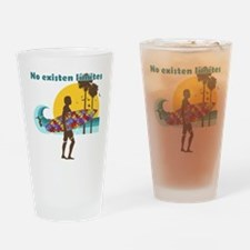 no existen limites Drinking Glass