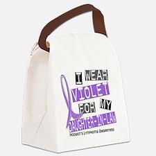 D I Wear Violet Daughter-In-Law 3 Canvas Lunch Bag