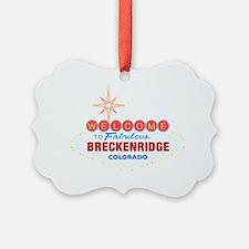 BRECKENRIDGE DARK Ornament