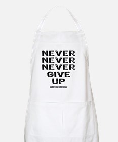NEVER_GIVE_UP Apron