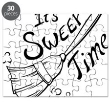 Sweep Time Black Puzzle