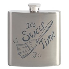 Sweep Time Blue Flask