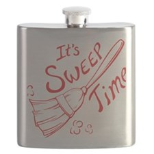 Sweep Time Red Flask