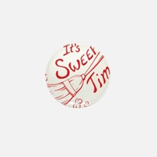 Sweep Time Red Mini Button