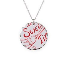 Sweep Time Red Necklace