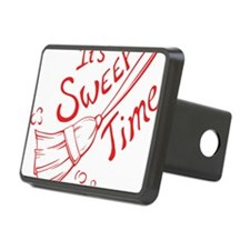 Sweep Time Red Hitch Cover
