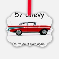 57chevy Picture Ornament