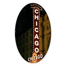 chicagotheatresign22 Decal
