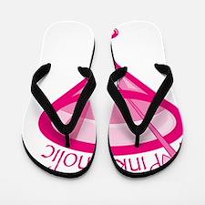 NewPinkaholicMartini Flip Flops