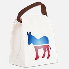 stainedglassdonkey Canvas Lunch Bag