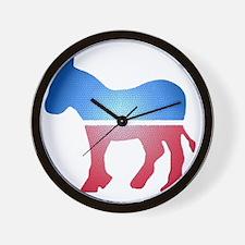 stainedglassdonkey Wall Clock