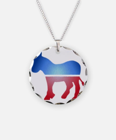 blurrydonkey Necklace Circle Charm
