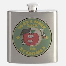 back to school apple Flask