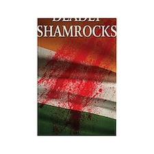 Deadly Shamrocks Rectangle Magnet