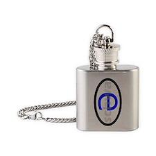schwa Flask Necklace