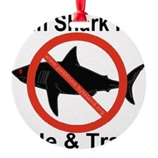 no_shark_fin Ornament