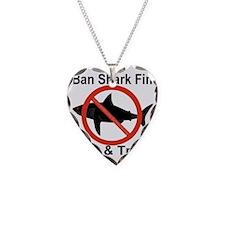 no_shark_fin Necklace