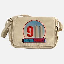 911 WTC Never Forget Messenger Bag