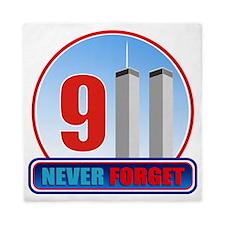 911 WTC Never Forget Queen Duvet