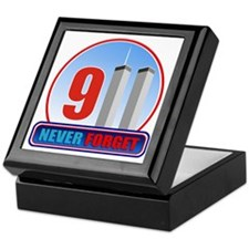 911 WTC Never Forget Keepsake Box