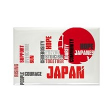 Inspiring People of Japan Rectangle Magnet