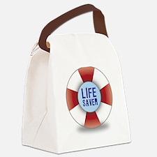 Lifesaver Canvas Lunch Bag