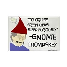 Gnome Chompskey Rectangle Magnet