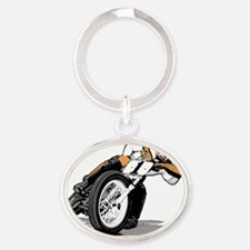 mert Oval Keychain