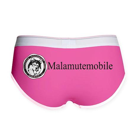 AMCA logo and malamutemobile 10 Women's Boy Brief