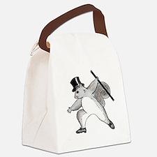 cafepress squirrel Canvas Lunch Bag