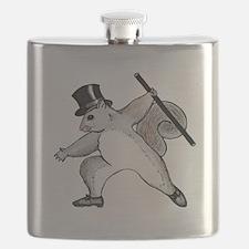 cafepress squirrel Flask