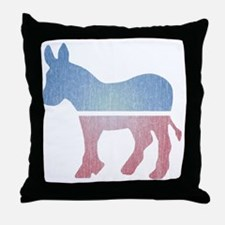 fadeddonkey Throw Pillow