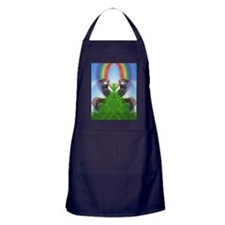 squirrel-with-rainbow_ff Apron (dark)