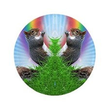 """squirrel-with-rainbow_ff 3.5"""" Button"""