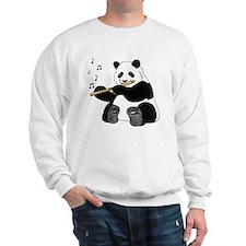 cafepress panda1 Sweatshirt