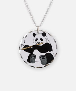 cafepress panda1 Necklace