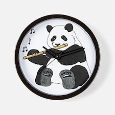cafepress panda1 Wall Clock