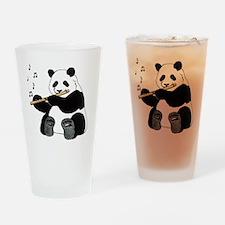 cafepress panda1 Drinking Glass
