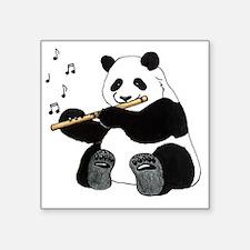 "cafepress panda1 Square Sticker 3"" x 3"""