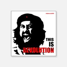 "THIS IS Revolution! Square Sticker 3"" x 3"""