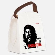 THIS IS Revolution! Canvas Lunch Bag