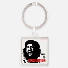 THIS IS Revolution! Square Keychain