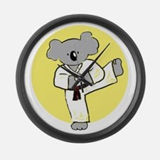 cafepress koala Large Wall Clock