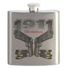 1911_100th_blk Flask
