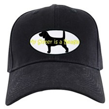 Beagle Sister Baseball Hat
