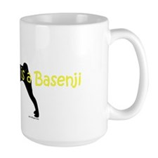 My Brother is a Basenji Coffee Mug